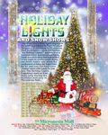 マイクロネシアモール 雪と光りの祭典