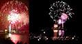 タモン湾 新年の花火