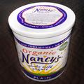 オーガニックブランド「ナンシー」の全乳プレーンヨーグルト