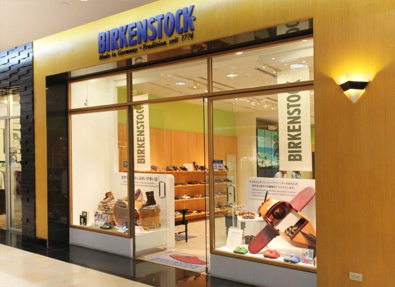 プレジャーアイランドにあるショッピングモール、ザプラザ内の1階にある『ビルケンシュトック』