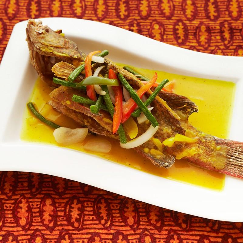 JiA(ジャ)の白身魚のエスカベッチ