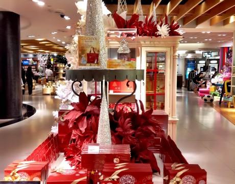 ゴディバのクリスマス限定コレクション DFSギャラリアグアム