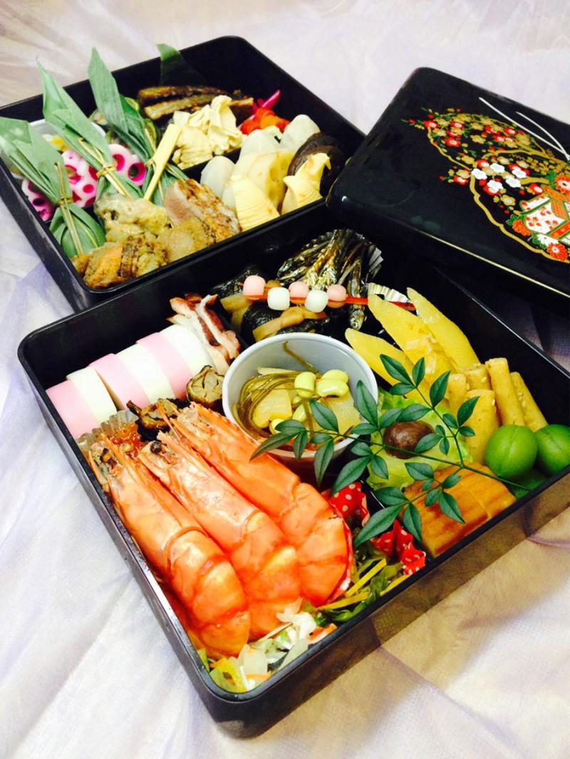 2014年 嵯峨野のおせち料理