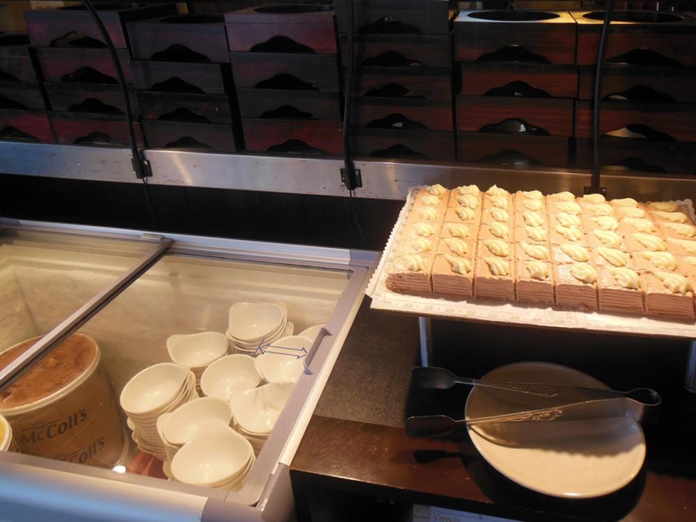デザートコーナー (コリドスのランチブッフェ)