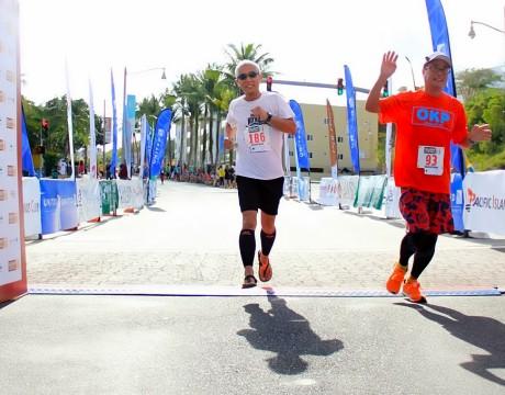 ゴール! グアムインターナショナルマラソン2014