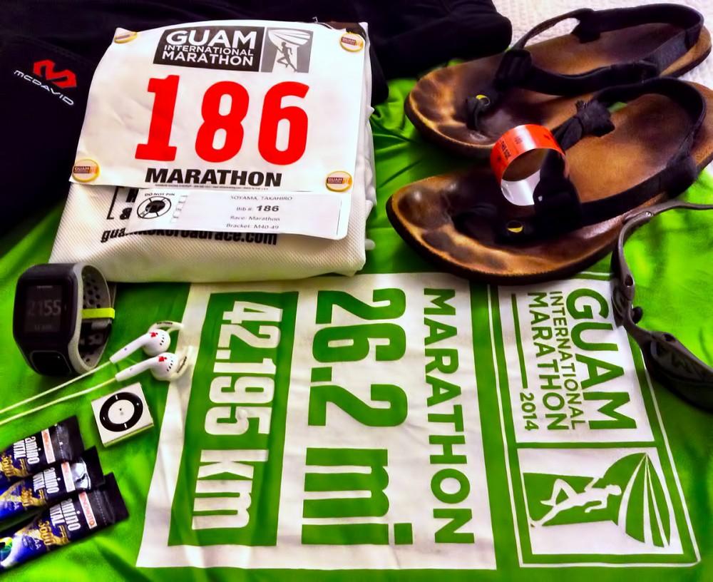 グアムインターナショナルマラソン2014