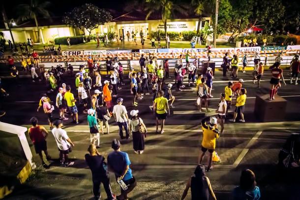 グアムインターナショナルマラソン スタート前