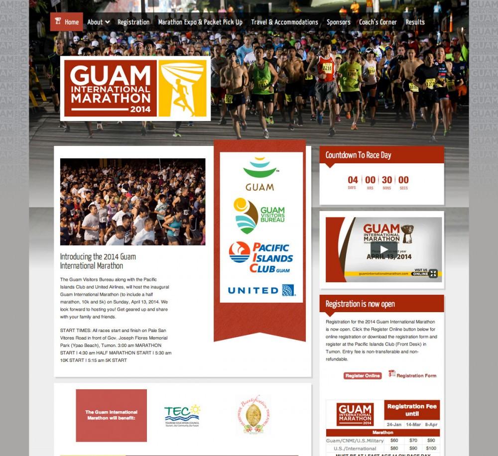 2014年 第二回 グアムインターナショナルマラソン