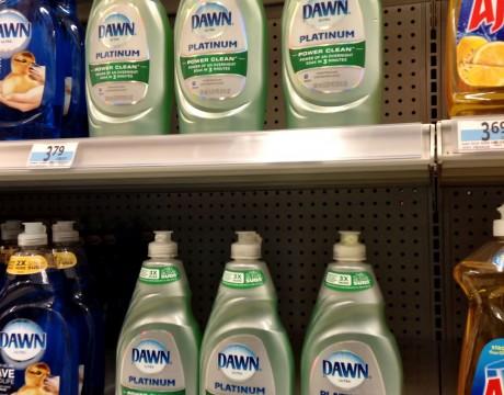 DAWNのPlatinumというパール系グリーンボトル (Kマート)