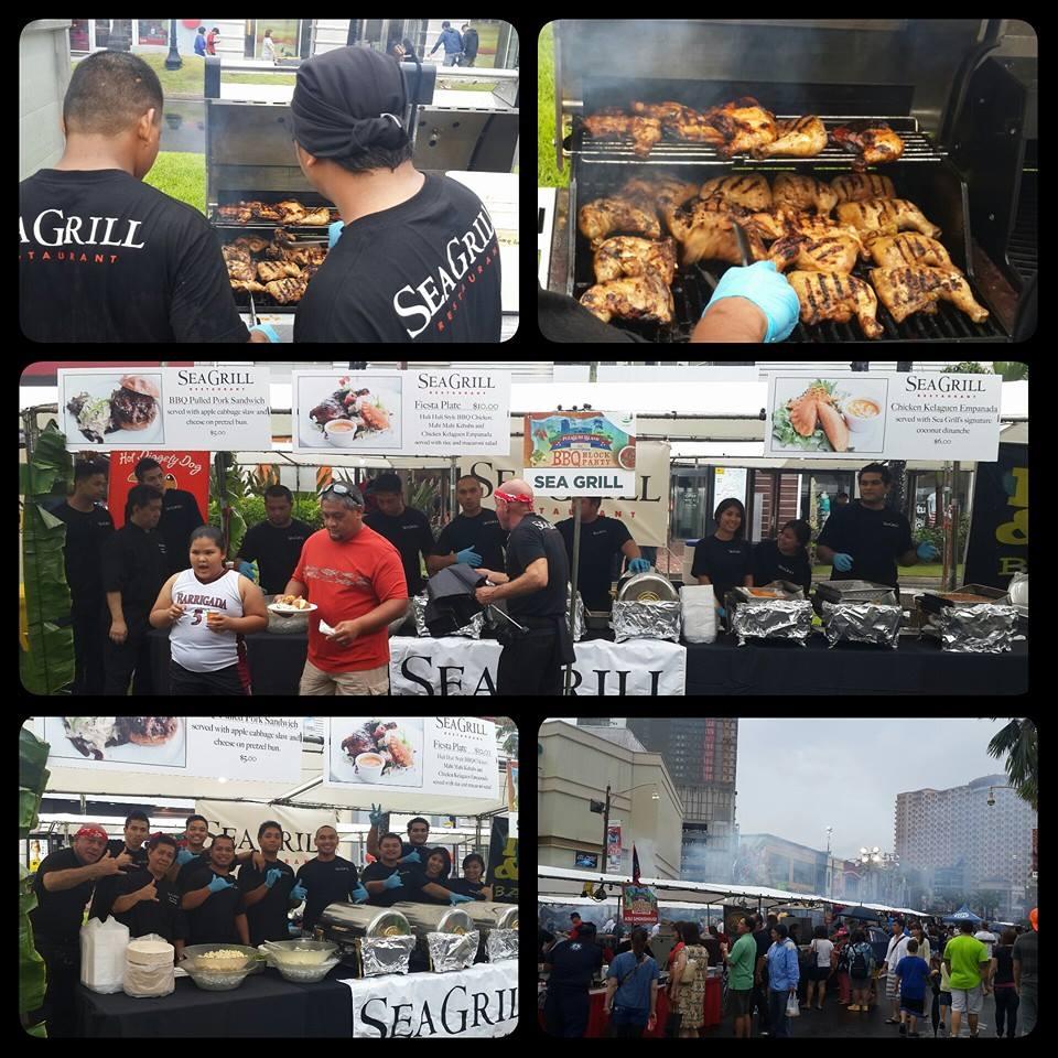 シーグリルのブース 第2回グアムBBQブロックアウトパーティー (2014年)