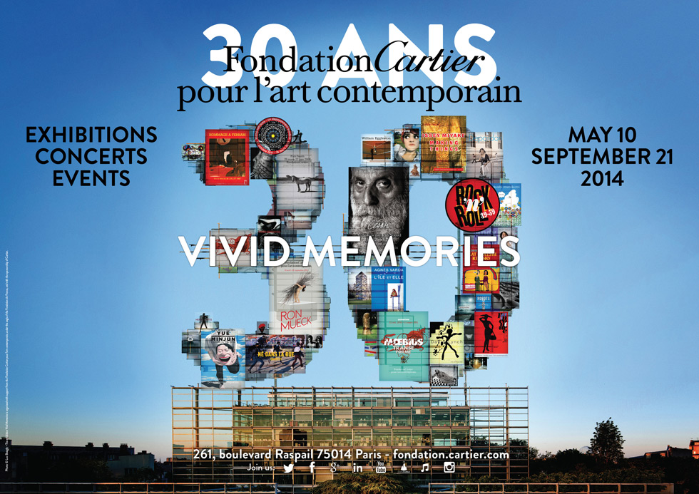 30 ANS Fondation Cartier pour l'art contemporain