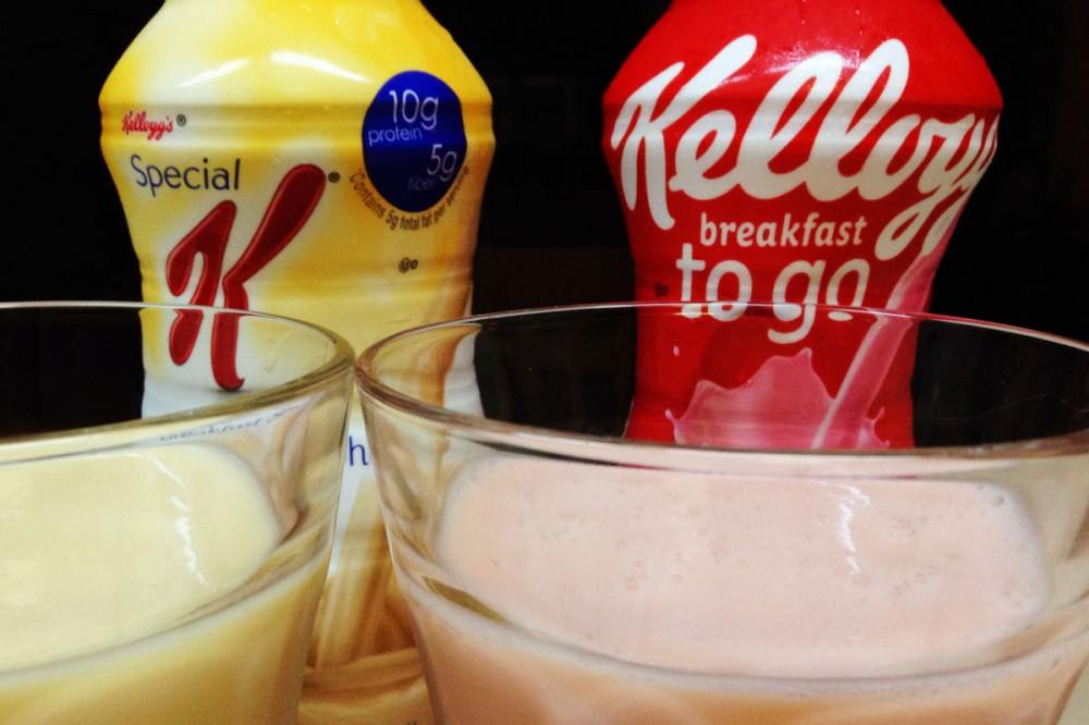 ケロッグ(Kellogg)の『Breakfast to go』