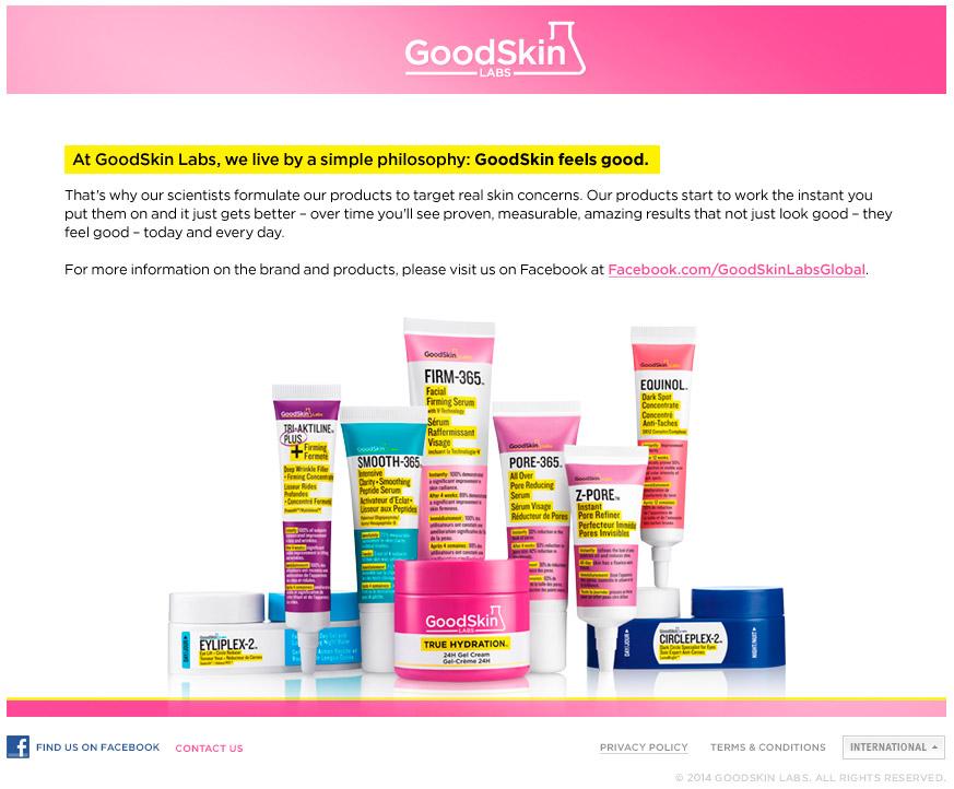 皮膚科学を研究する科学者らが設立したグッドスキンラボ