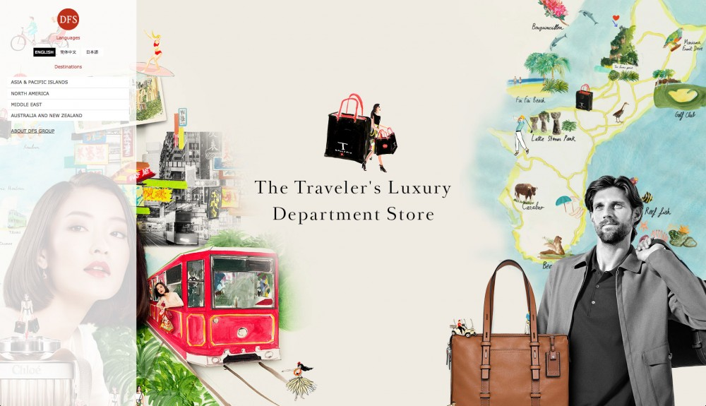 The Traveler's Luxury Department Store (DFS.COM)