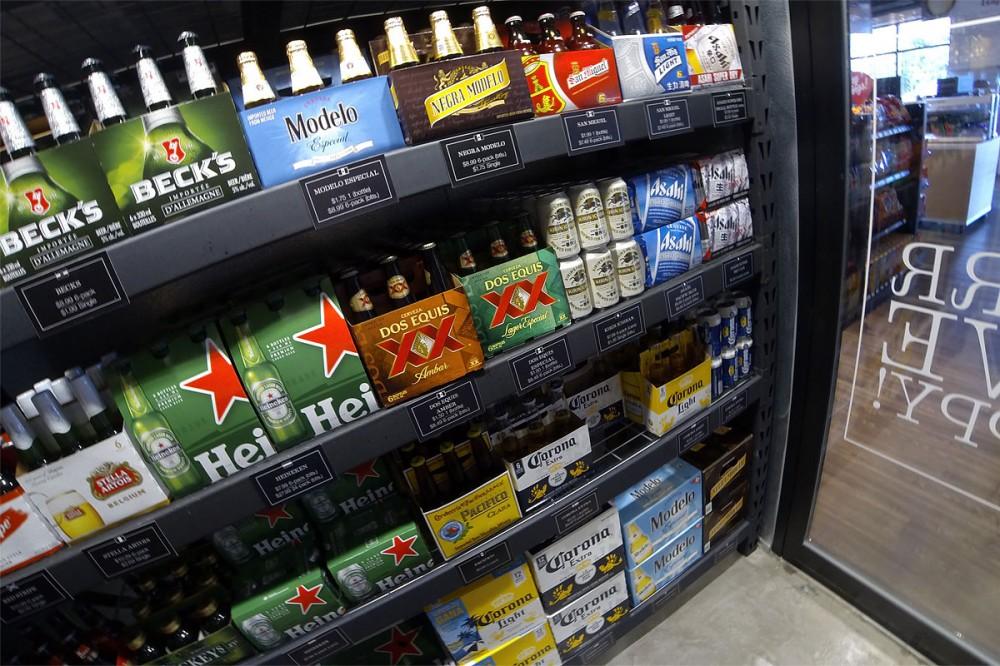 冷え冷えのビールをすぐにいただけます。ビアケイブ(Beer Cave) Foody's