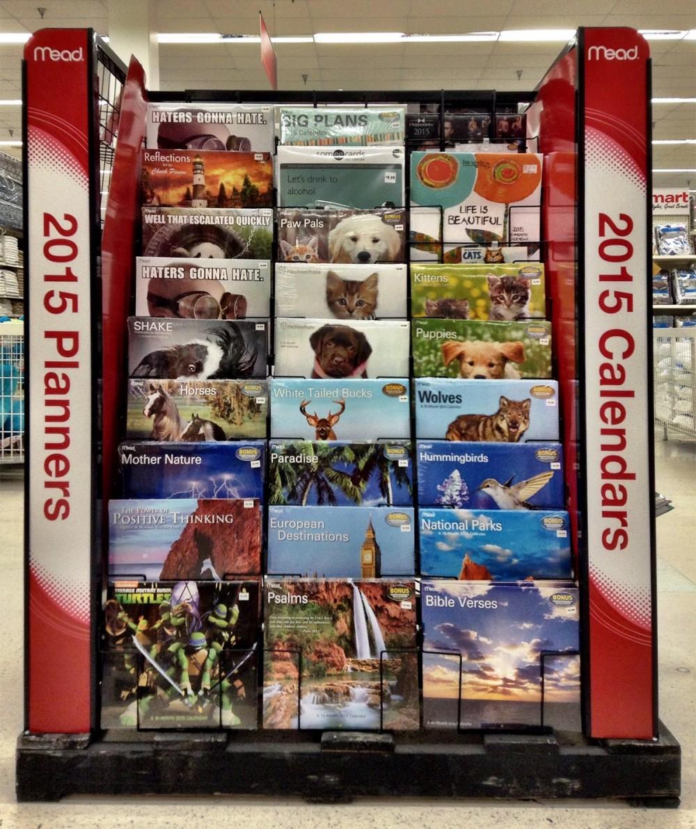 2015年のカレンダー Kマート