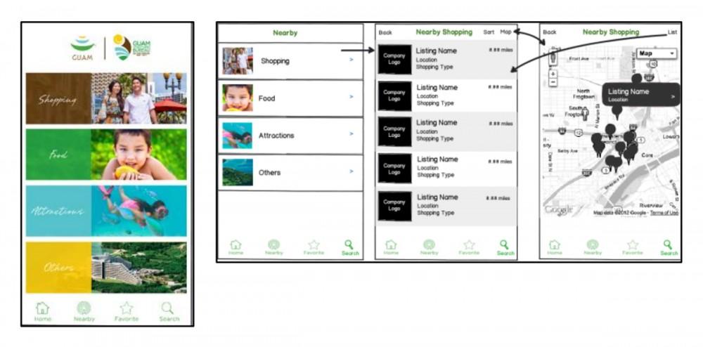 スマートフォン用のアプリケーション「Shop Guam」が無料でダウンロードできます。ショップグアムフェスティバル2014