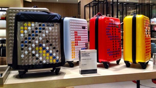 ドットドロップスのスーツケース (Tギャラリア by DFS グアム)