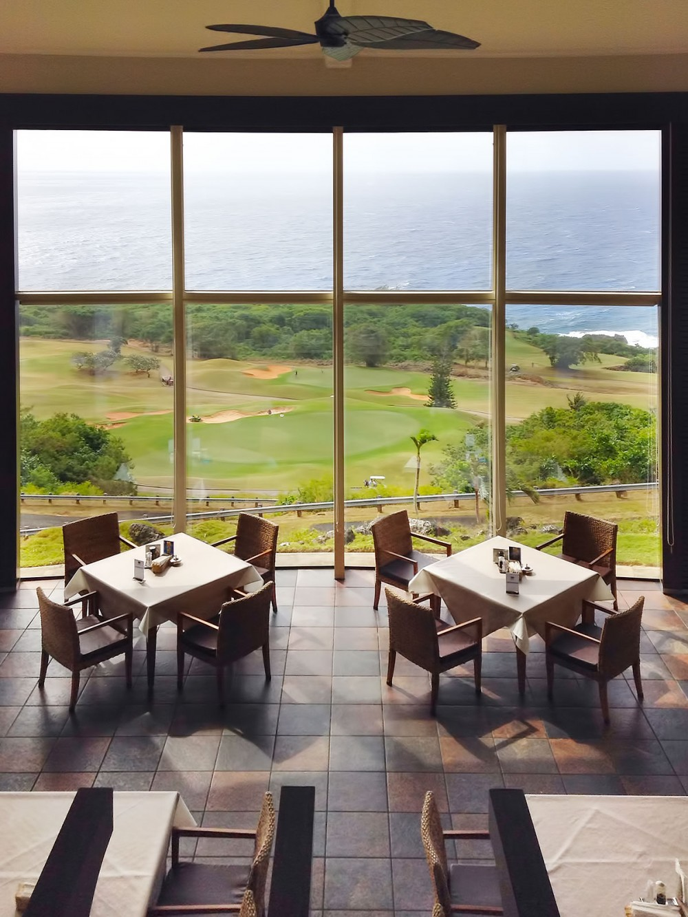 オンワードマンギラオゴルフクラブのレストラン