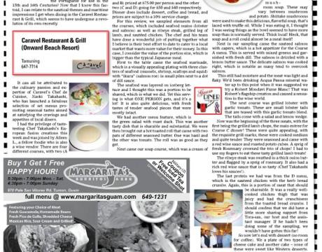 星条旗新聞にキャラベルが紹介されていました。