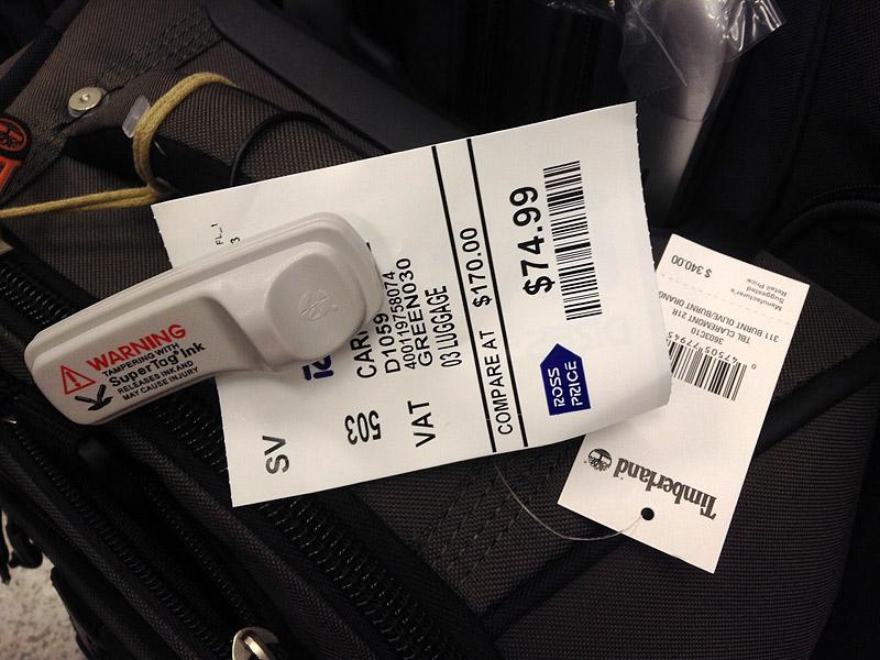 ティンバーランドのスーツケース(小) $340.00 → $74.99 (ロスドレスフォーレス)