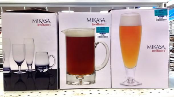 Mikasaのビール食器 (ロスドレスフォーレス)