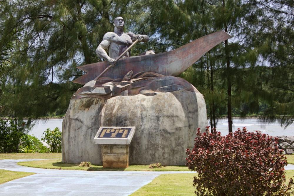 ガダオ酋長の像 (Statue of Chief Gadao) イナラハン