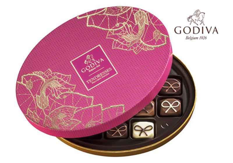 ゴディバのチョコレート「TENDRESSES」