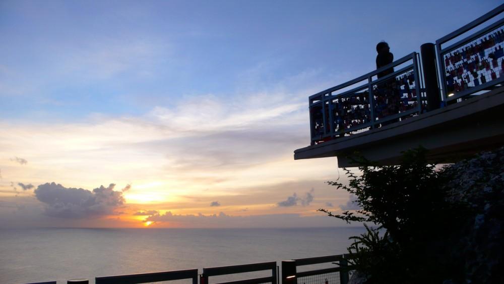 恋人岬から見るサンセット