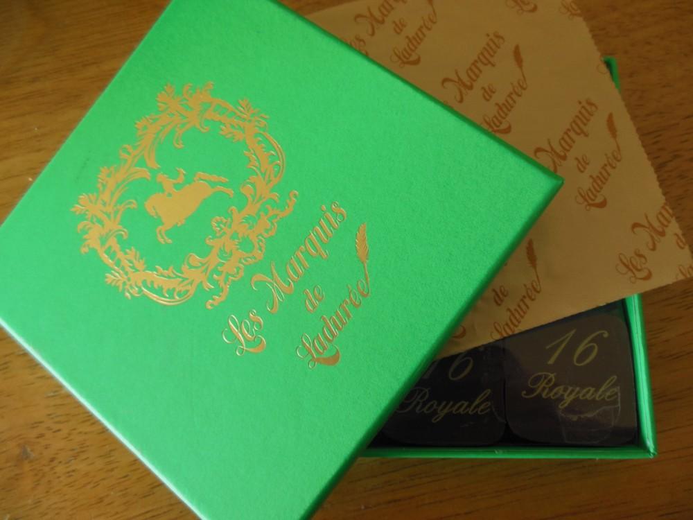 レ マルキ ド ラデュレのチョコレート