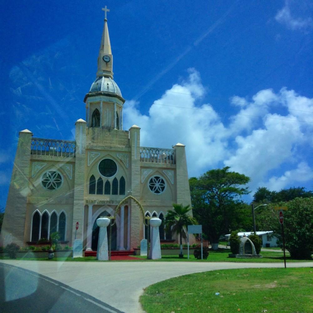 イナラハンの教会