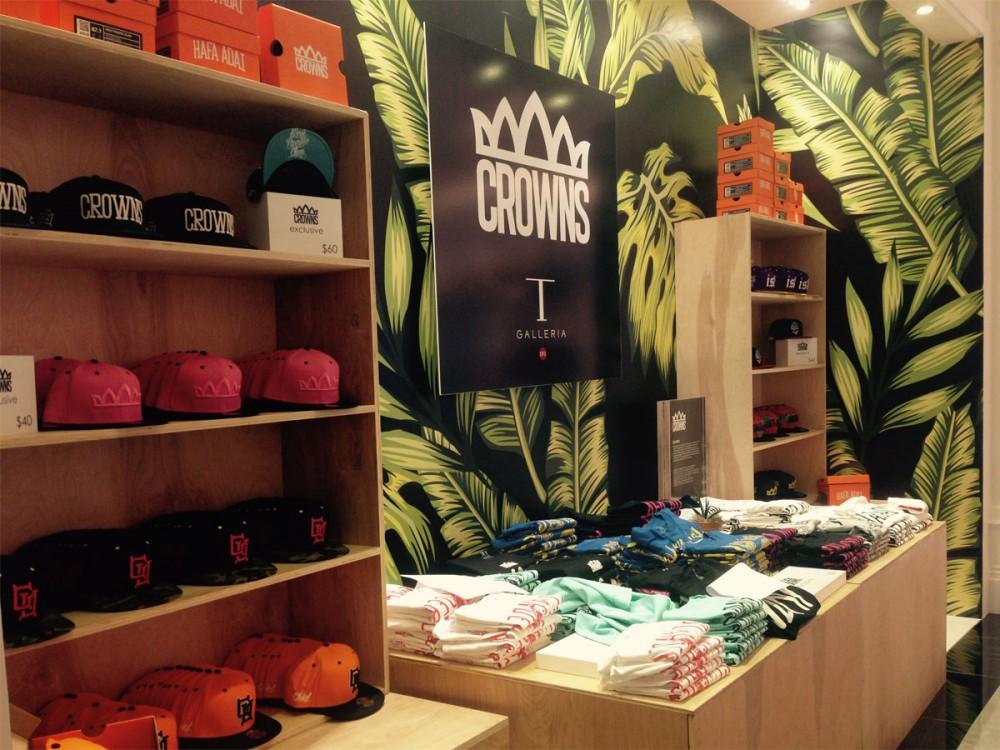 Tギャラリアグアムに新しくオープンした『CROWNS』は、ローカルの若者たちに大人気