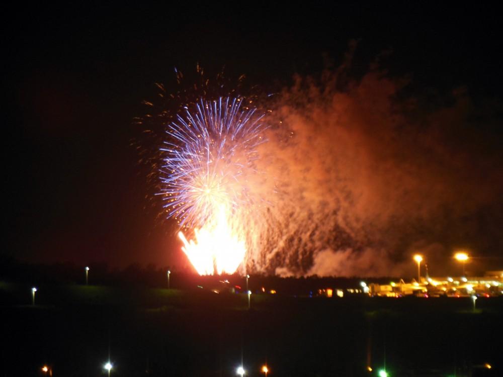 リベレーションカーニバルの花火