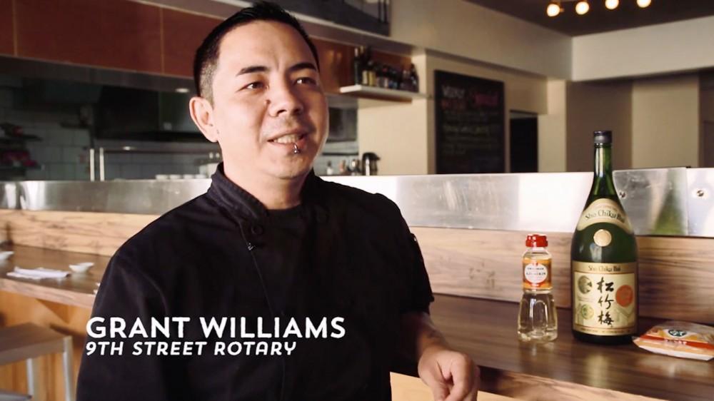 『9th street rotary』のグラントウィリアムスさん