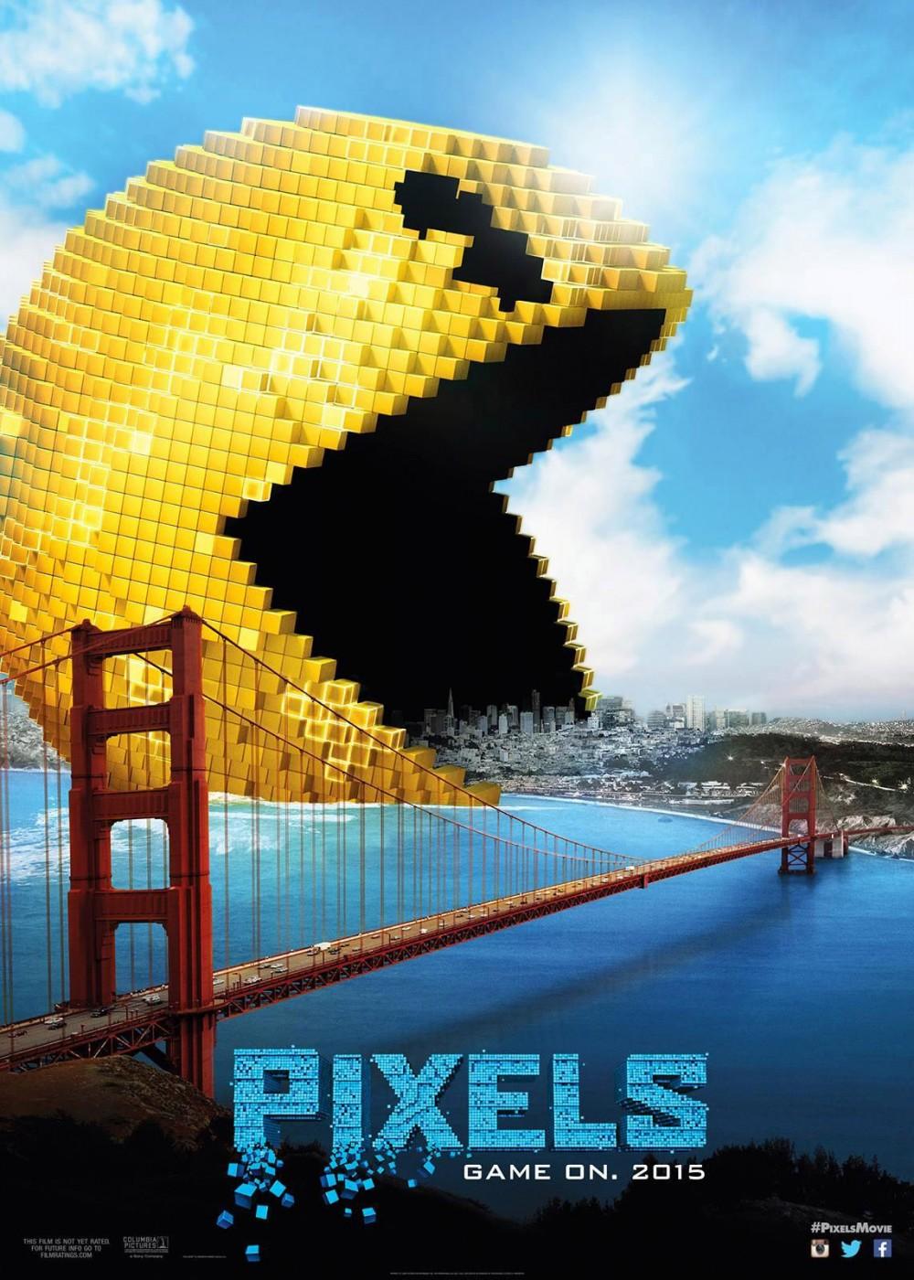 映画『ピクセル(Pixels)』