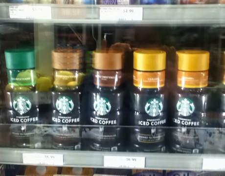 コストUレスに、スターバックスのアイスコーヒーシリーズが復活