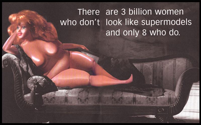 「スーパーモデルのように見える女性は世界に8人、そうでない女性は30億人」The Body Shop