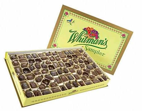 Whitman's(ウィットマン)社製の「Whitman's Sampler($34.99)」