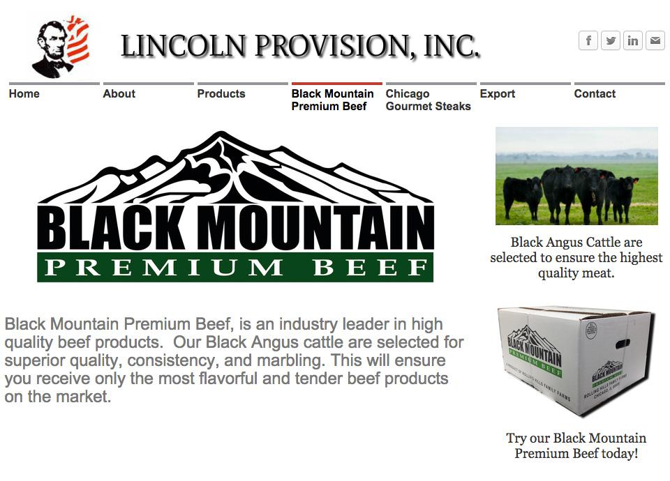 霜降り牛ブラックマウンテンプレミアムビーフ