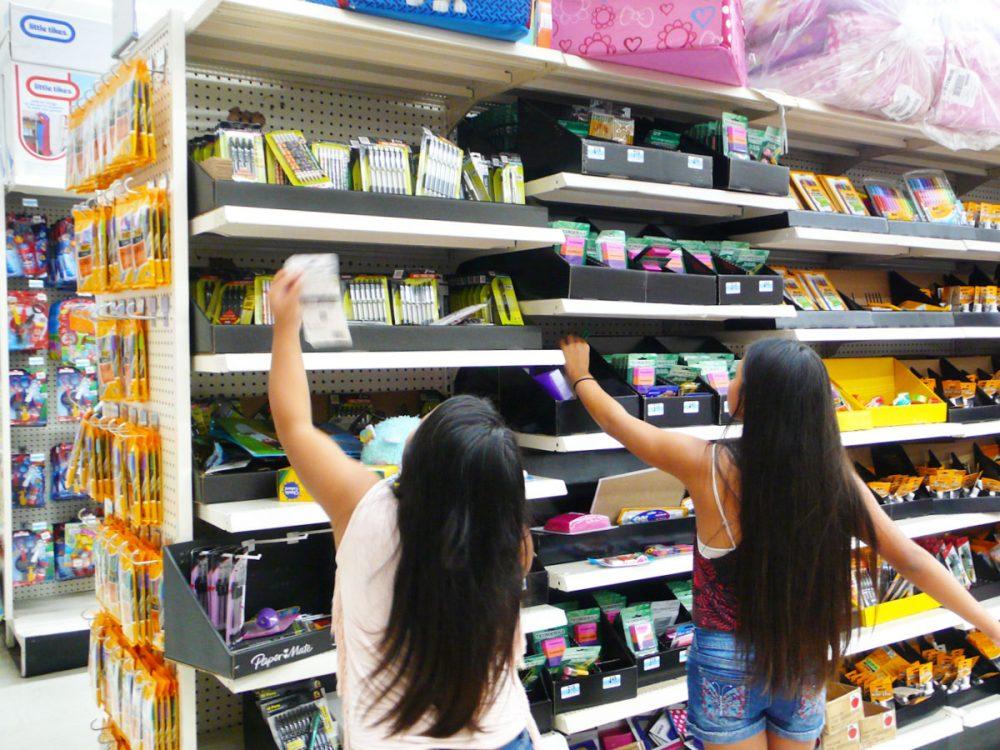 Kマートの新学年セール