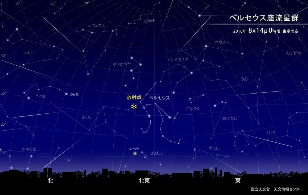 国立天文台(NAOJ)【ペルセウス座流星群】