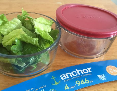 アンカーホッキング社のガラス製食品保存容器