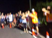 折り返し地点で応援してくれた皆さん グアムココロードレース2016