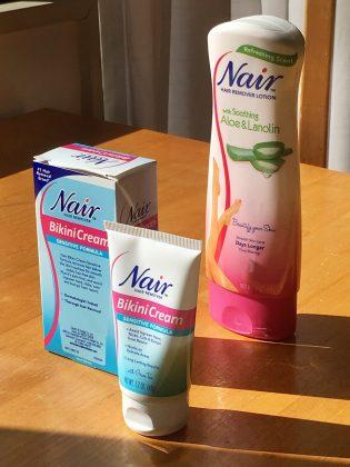 Nairの除毛クリーム