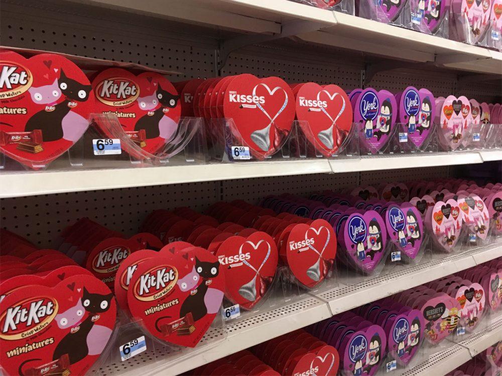 チョコレート Kマートのバレンタイン商品