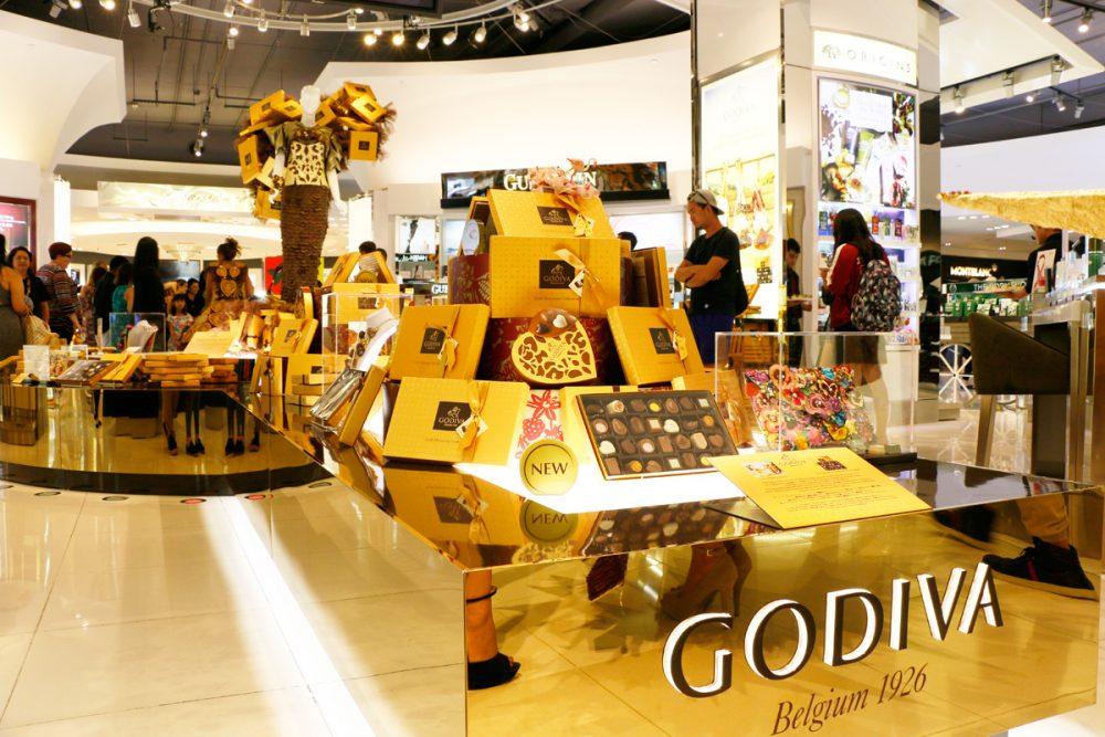 GODIVAのゴールドディスカバリーイベント(Tギャラリアグアム)
