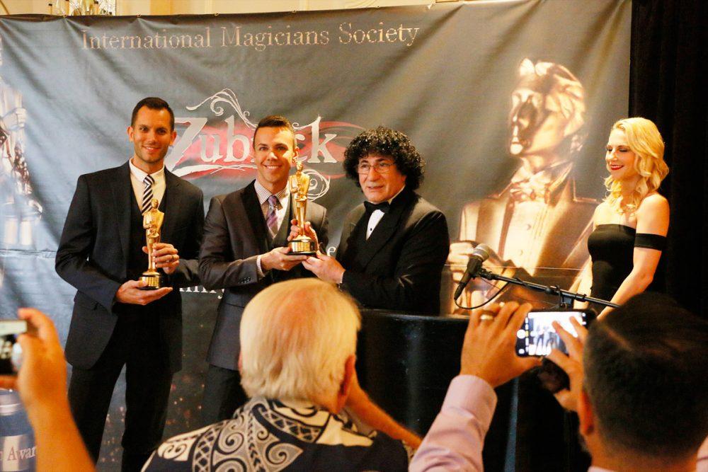 Chris & Ryan Zubrickがマジック界のオスカー賞と呼ばれているMerlin賞を受賞