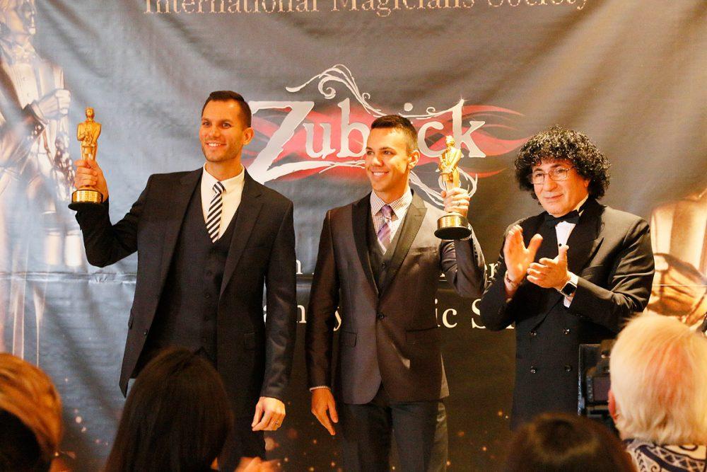 Chris & Ryan Zubrickがマジック界のオスカー賞と呼ばれているMerlin賞を受賞 (サンドキャッスル)