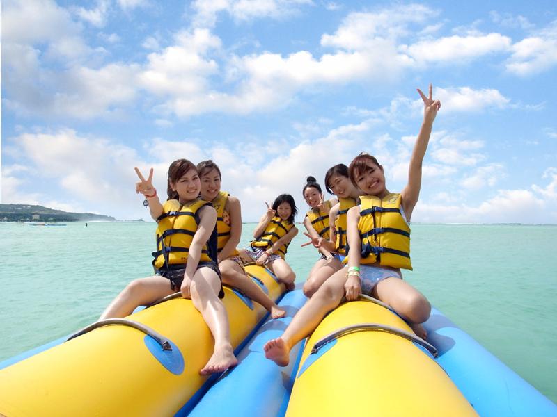 オーシャンジェットクラブのバナナボート