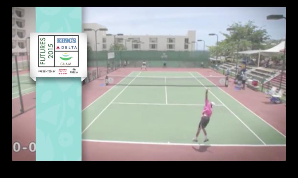 フューチャーズ2015 テニストーナメント